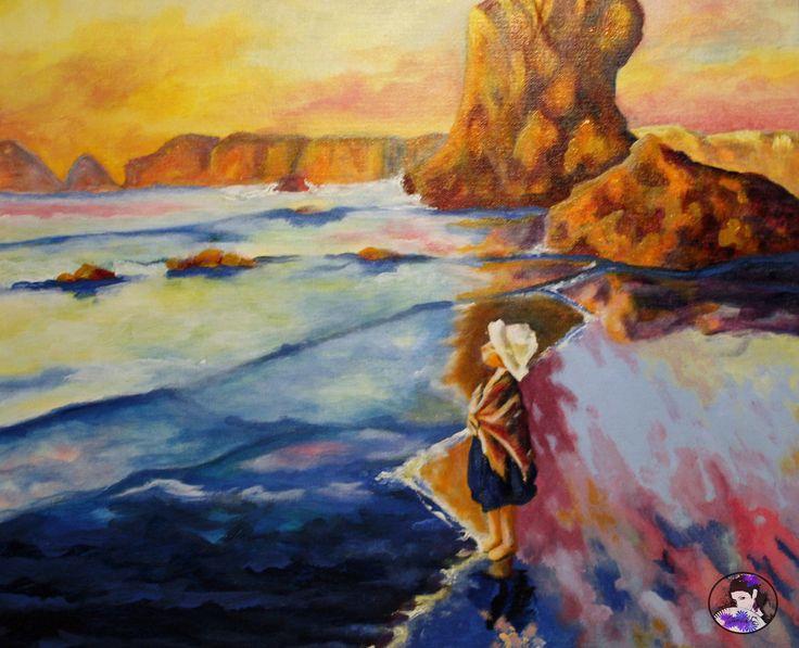 Hacia el mar_14#canvas#acrylic