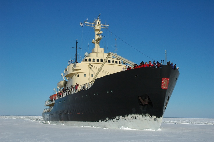 The ice-breaker Sampo in Kemi has been converted into one of Finland's most unusual tourist attractions.