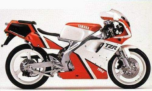 YAMAHA TZR250 FACTORY REPAIR MANUAL 1986-1996 DOWNLOAD