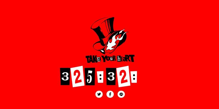 Is Persona 5's release date incoming? Suspicious countdown arrives: So, Persona 5 guys? Maybe if we're lucky we'll see it in our lifetime?…