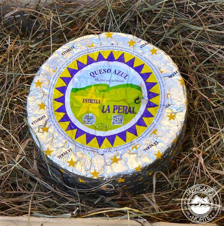 Queso La Peral. Se trata de un queso azul de textura cremosa. Tiene un peso de 2 kg. http://www.elmercadodelnorte.com/categoria-producto/quesos/