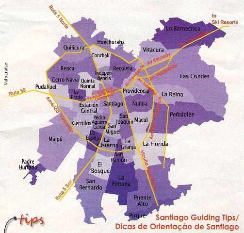 M s de 25 ideas incre bles sobre comunas de santiago en for Calles de santiago de chile