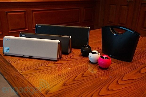 Sony unveils NFC-enabled Bluetooth speakers, waterproof Walkman MP3 headphones at CES