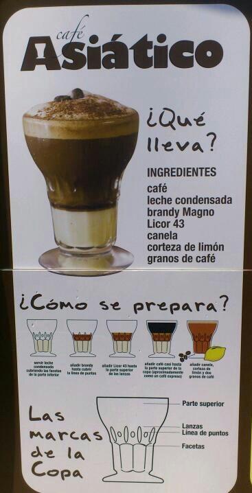 Café Asiatico, tipico café de Cartagena (Murcia)