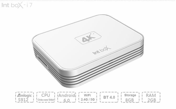Een gave en vooral snelle Design Mediaplayer! De Intbox i7 is een Octa-Core (S912 processor @2.0GHz) Mediaplayer met 2GB/8GB aan geheugen en opslag. Daarnaast heeft deze Mediaplayer Bluetooth en Dual Band Wifi (2.4G + 5G) voor snel draadloos internet! KODI erop en kijken maar naar alles wat jij wilt: films, series of muziek! Nu tijdelijk maar €45  http://gadgetsfromchina.nl/design-android-6-0-mediaplayer-intbox-i7/  #Gadgets #Gadget #sale #gadgetsFromChina #China #Gearbest #KODI #Android…
