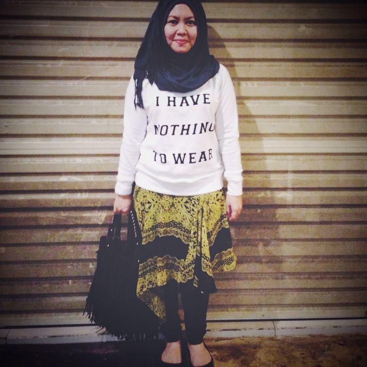 Hijab streetstyle