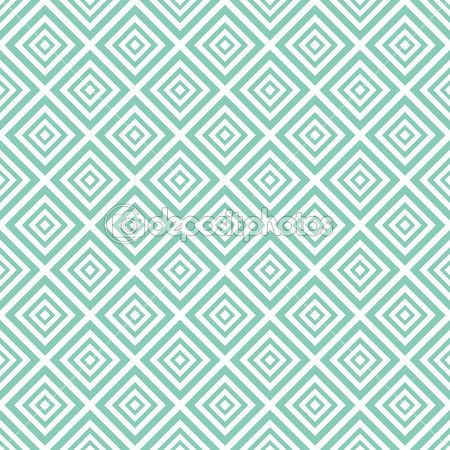 Seamless pattern di pastello vettoriale (affiancamento, con swatch). trama infinita può essere utilizzato per la carta da parati, riempimento, sfondo web, consistenza. ornamento astratto. colori blu, bianchi. forma piazza e diamante — Illustrazione stock #46044737