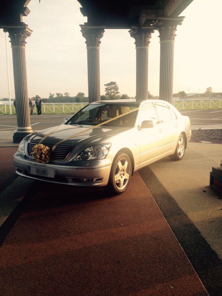 Lexus LS For A Wedding.