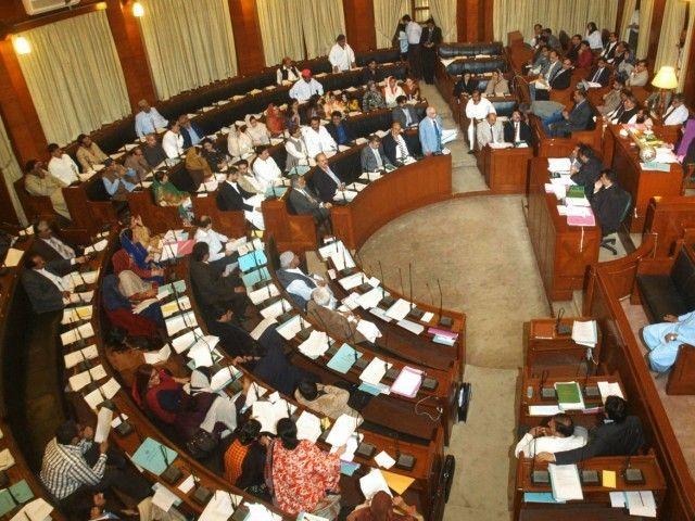 MQM criticizes Sindh govt in SA session |