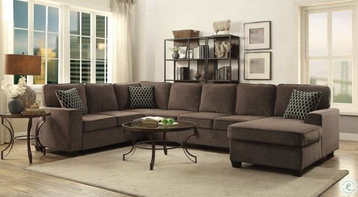 Provence Brown Raf Sectional In 2021 Brown Sectional Brown Sectional Living Room Furniture