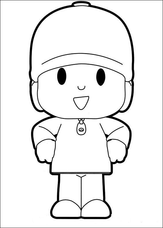 Desenhos para pintar Pocoyo 36                                                                                                                                                                                 Mais