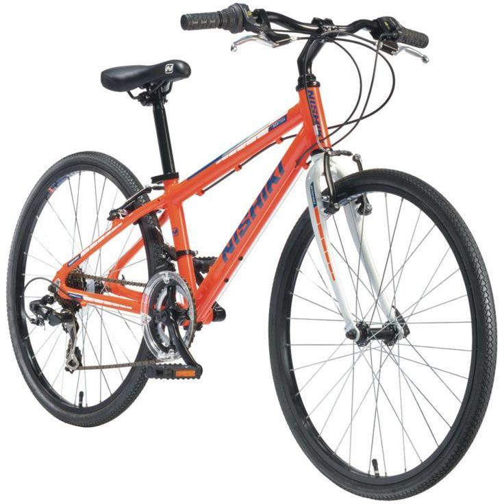 Nishiki Boys' Manitoba 24'' Hybrid Bike Bike, Road bike