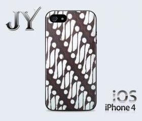 Batik Yogyakarta Traditional Indonesian IPhone Case Cover