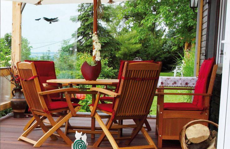 Goditi l'estate in giardino, senza preoccuparti delle zanzare! #estate #giardino #relax #zanzare #PortaZampirone #MadeInItaly #casa #arredo #design #moderno
