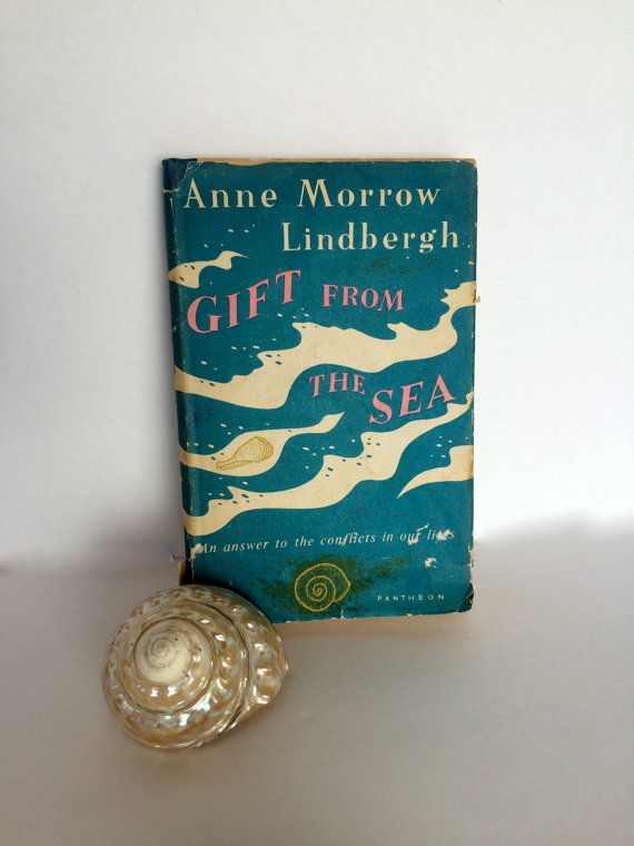 Gift From The Sea by Anne Morrow Lindbergh Antique by TizaVintage