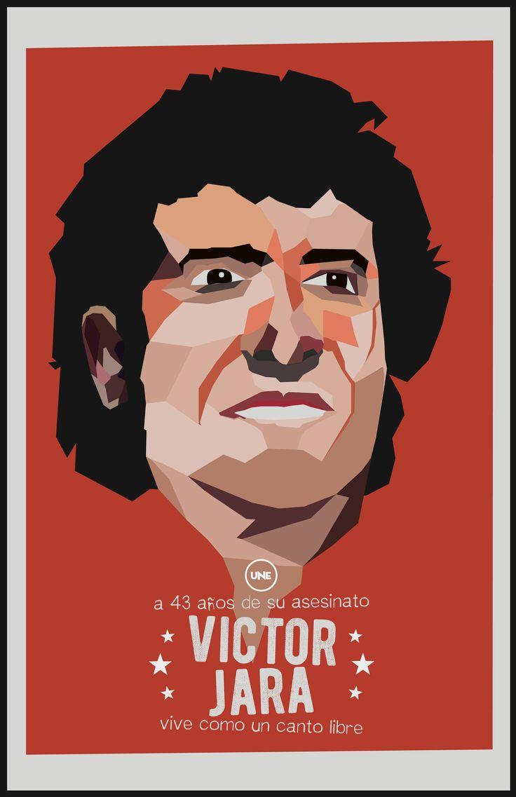 43 años del asesinato de Victor Jara, vive como un canto libre