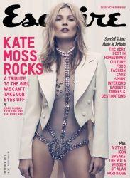 Kate Moss portada de Esquire