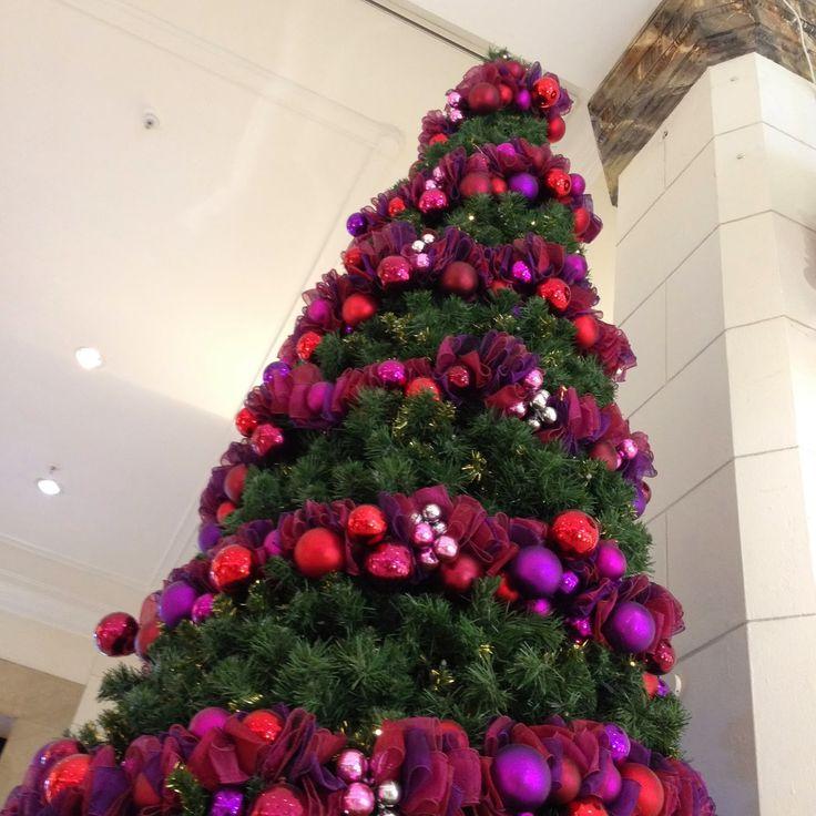 David  Jones trees VIA Snippets 'n' Scraps: Christmas in the City