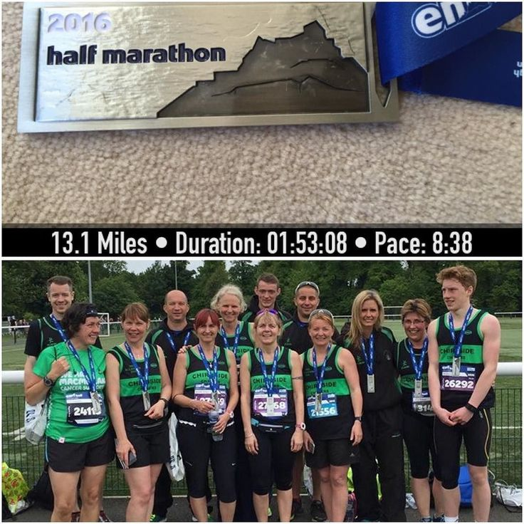 Beaut day out to Edinburgh with the Chasers managed to bag a great new medal and happy with my time  might have to start giving some serious thought to the marathon now eeeeek #justoverfourmonthstogo #edinburgh #race #raceday #halfmarathon #emf2016 #emf #marathontraining #running #hardwork #instarunners #runner #igrunner #loveyourrun #attitudetoachieve #earlymorning #garmin #strava #saucony #doit #ukrunchat #borntorun #pb by tillyfuller73
