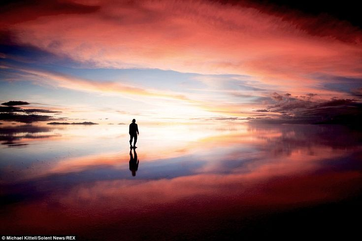 Breathtaking: The El Salar de Uyuni salt flat, Bolivia; these stunning photographs reflect a perfectly still landscape are like an image captured in a dream