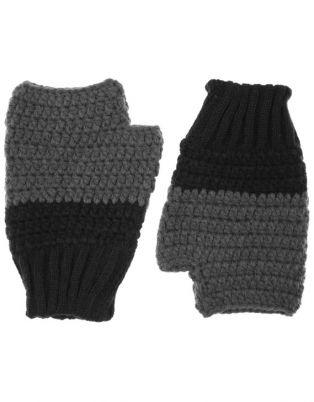 Jendi - Ribbed Wrist Knit Mitts