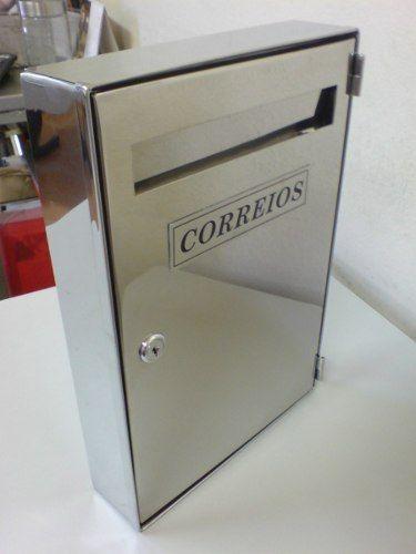 Caixa De Correio Inox Para Entrada De Prédio - R$ 149,90