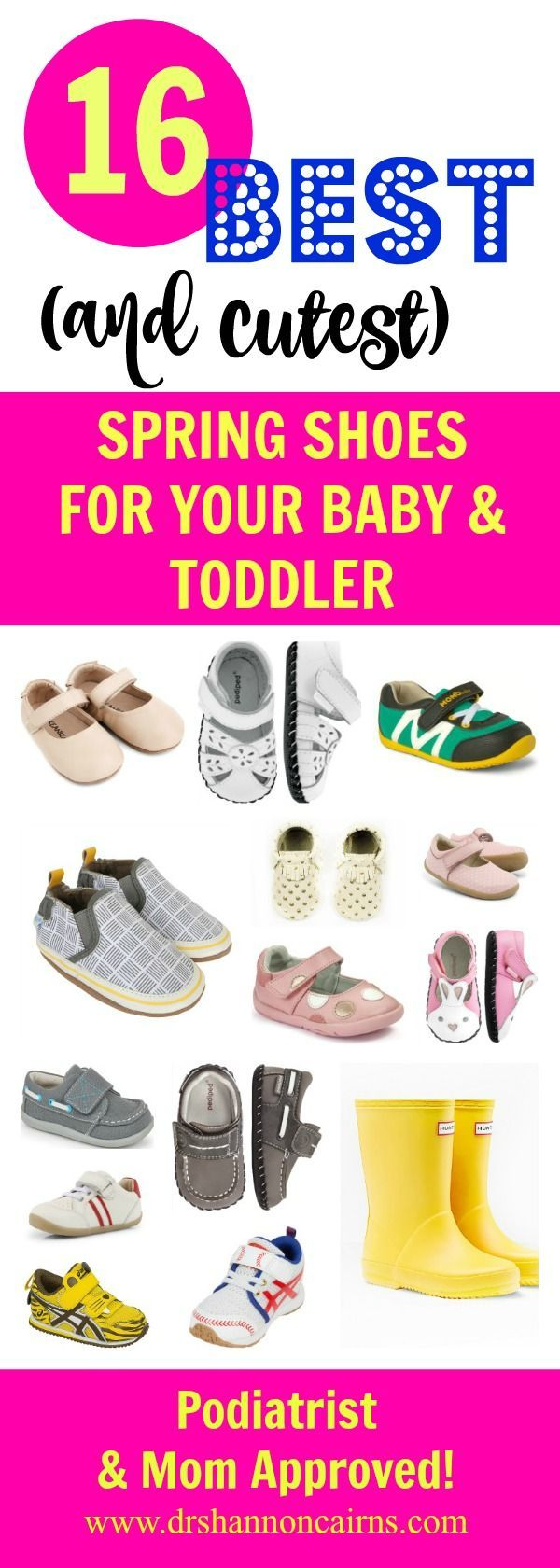The 16 Best (and Cutest) Spring Shoes for Your Baby & Toddler - The Freckled Foot Doc