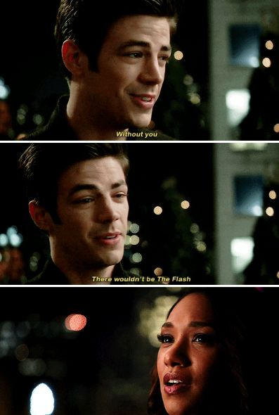 The Flash 1x21 - What I'm trying to say is even though you didn't know everything about my life this past year, that does not mean that you weren't a part of it. You were. Every, single, day.