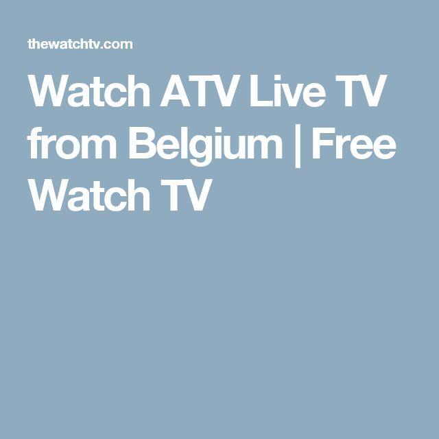 Watch ATV Live TV from Belgium | Free Watch TV