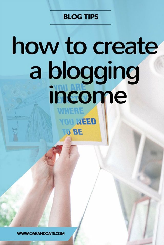 Want to make Money Blogging? This post has everything you need to know you create your own income for blogging!