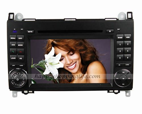Android 4.0 car DVD player for Mercedes-Benz Vito W639, auto radio multimedia with 7 inch touch screen, 2 Din GPS navigation system with dual zone function, WIFI, 3G Internet Access, analog TV...
