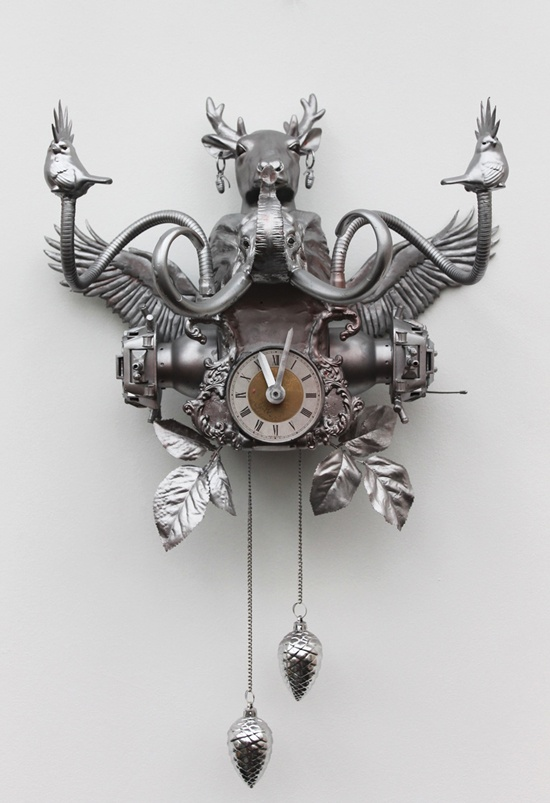 Cuckoo-clock by Jeugdstijl