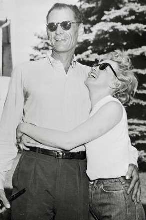 <p>Après un court mariage avec le joueur de baseball Joe Di Maggio, la superstar et sex symbol Maril... - HA Collection / VISUAL Press Age