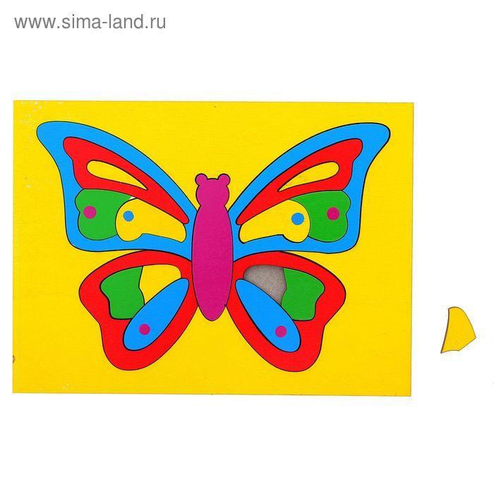 "Головоломка ""Собери картинку: бабочка"", 19 элементов"