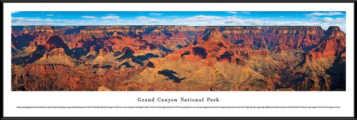 nice Grand Canyon National Park Panoramic Picture  # 2    Framed   Check more at http://harmonisproduction.com/grand-canyon-national-park-panoramic-picture-2-framed/
