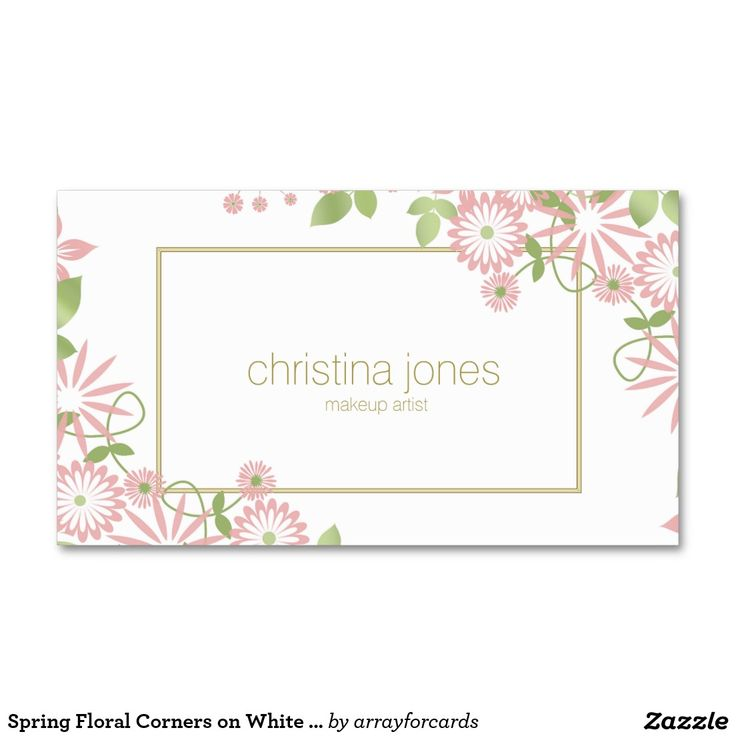 598 best Girly Business Cards images on Pinterest | Business cards ...