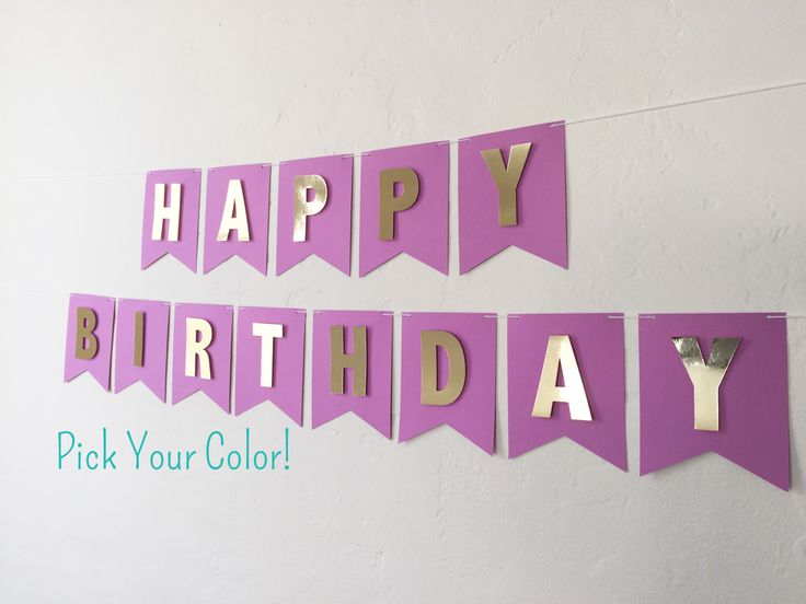 Best 25+ Birthday banner design ideas on Pinterest | Pennant ...