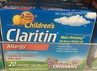 New! Children's Claritin Non-drowsy Allergy 24 Hour Relief! 20 Grape Chews - http://health-beauty.goshoppins.com/over-the-counter-medicine/new-childrens-claritin-non-drowsy-allergy-24-hour-relief-20-grape-chews/