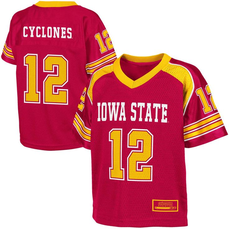Iowa State Cyclones 12 Toddler End Zone Football Jersey