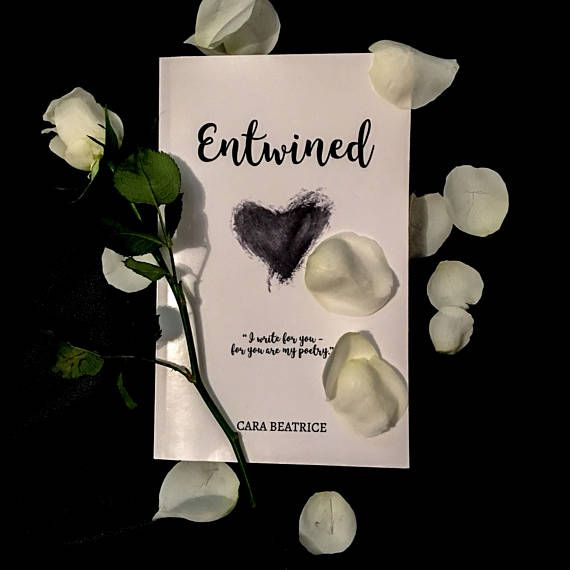 Entwined Print Book Love poetry Book short poems