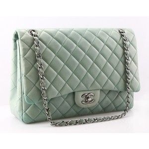 Chanel: Mint Green, Chanel Bags, Fashion, Purse, Coveted Handbags, Mint Chanel, Accessories