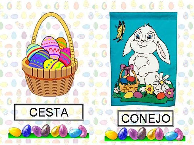 Menta Más Chocolate - RECURSOS y ACTIVIDADES PARA EDUCACIÓN INFANTIL: Vocabulario de SEMANA SANTA