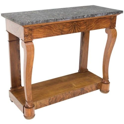 Buy 19th C. French Restauration Style Console by Kristen Buckingham - Limited Edition designer Furniture from Dering Hall's collection of Traditional Console Tables.