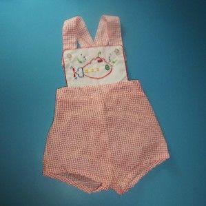 Retro 1950's Baby Bib - Sweet Stuff | Felt  |1950 Baby Stuff