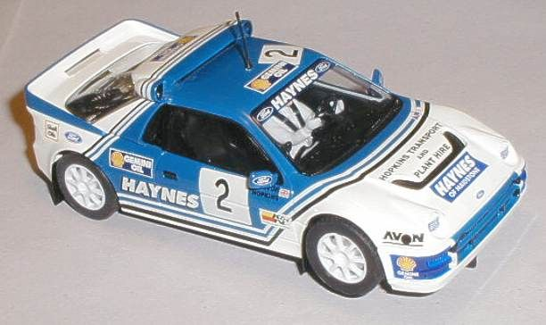 Scalextric car C3407 Ford RS200 Haynes for sale