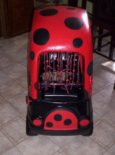 find this pin and more on crafts pimped out toddler cars little tyke cozy coupe makeovers