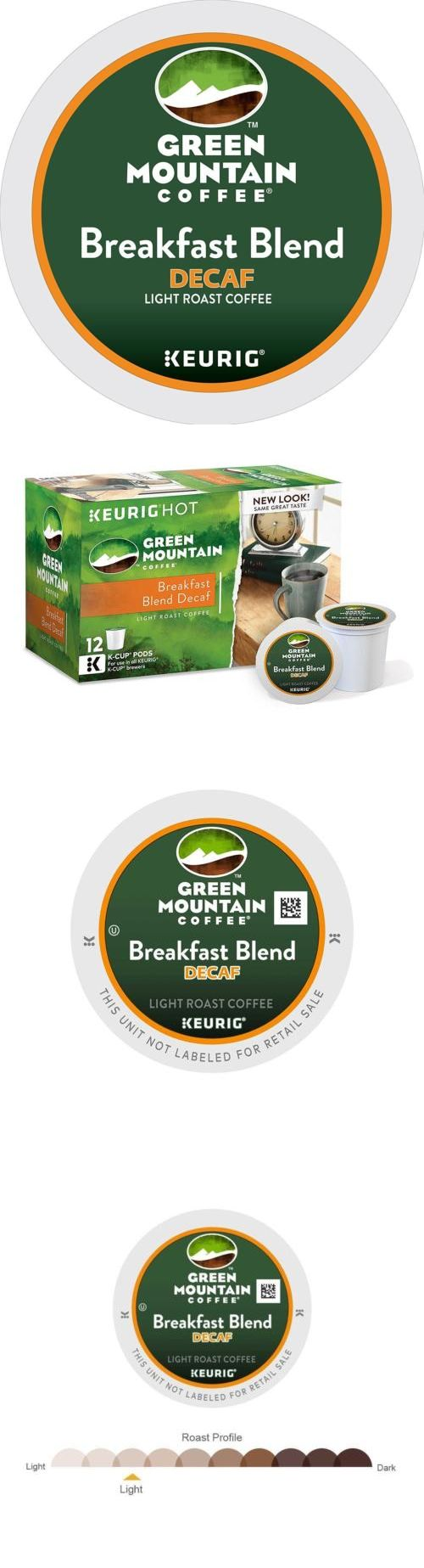 Coffee Pods and K-Cups 79630: Green Mountain Coffee Breakfast Blend Decaf Keurig Single Serve K Cup Pods,... -> BUY IT NOW ONLY: $94.3 on eBay!