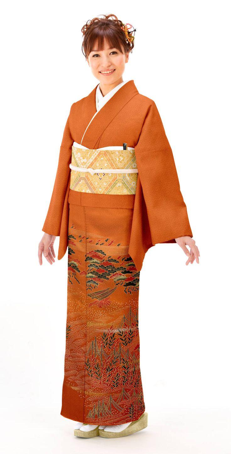 留袖レンタル(色留袖)は,晴れ着の丸昌