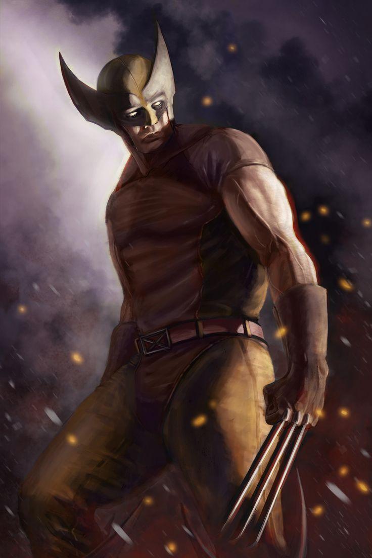 Wolverine, Matthew McEntire on ArtStation at https://www.artstation.com/artwork/kBKWy