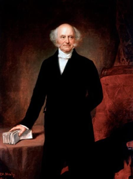 a biography of martin van buren an american politician National first ladies' library's biography for hannah van buren hannah van buren and martin van creating one of the first political machine in american.